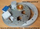 Szlifierka elektryczna do betonu Dekor - 7