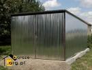 Garaże Blaszaki Blaszane 3x5 Ocynk I gatunek Typowe