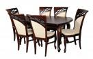 Krzesło eleganckie tapicerowane do salonu restauracji Nowe - 1