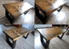 Stolik WENGE kawowy skandynawski ława drewniany - 2