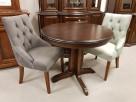 Krzesło pikowane z kołatką i z pinezkami mocne Nowe GLAMOUR - 1