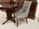 Krzesło pikowane z kołatką i pinezkami Nowe Glamour - 3