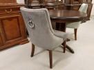 Krzesło pikowane z kołatką i pinezkami Nowe Glamour - 2