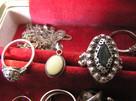 Srebrne pierścionki z lat 80 Warmet imago rytosztuka Rosja