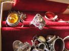 Srebrne pierścionki z lat 80 Warmet imago rytosztuka Rosja - 1
