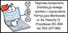Naprawa komputera, Naprawa Laptopa, Instalacja Systemu