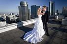 suknia ślubna 2w1 biała - 2