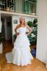 suknia ślubna 2w1 biała - 1