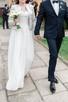 Piękna, zwiewna, muślinowa suknia ślubna -kolekcja BY OLA LA - 3