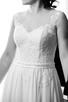 Piękna, zwiewna, muślinowa suknia ślubna -kolekcja BY OLA LA - 2