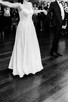 Piękna, zwiewna, muślinowa suknia ślubna -kolekcja BY OLA LA - 4