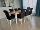 Krzesło z kołatką pinezkami chesterfield tapicerowane glamou