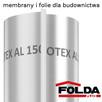 Folia paroizolacyjna STROTEX AL 150 - 2m x 50m
