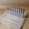 Zestaw Frezów CNC - 10 sztuk - 3,17 mm (od 0,8 mm do 3,17 mm