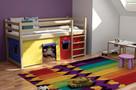 Super Bezpieczna antresola PORTOS masywne łóżka piętrowe - 2