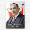 PORTRET ZDJĘCIE ROMAN DMOWSKI W ANTYRAMIE OBRAZ A4 - 2