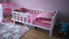 PROMOCJA klasyczne drewniane łóżko dla dziecka/ scandi style - 1