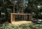 Domek letniskowy biuro drewniane domek drewniany producent - 2
