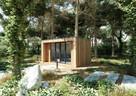 Nowoczesny domek letniskowy drewniany domki całoroczne biuro - 1