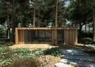 Domek letniskowy biuro drewniane domek drewniany producent - 1