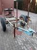 Wózek do drewna przyczepa