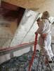 Ocieplanie docieplanie poddaszy domów, stropów Piana PUR - 2