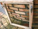 Rama okienna lustro aranżacja wnętrz obraz okno loft 56x69 - 3