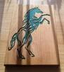 Płaskorzeźba z wizerunkiem konia (prezent, upominek) - 3