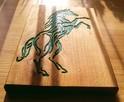 Płaskorzeźba z wizerunkiem konia (prezent, upominek) - 7