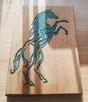 Płaskorzeźba z wizerunkiem konia (prezent, upominek) - 4