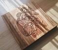 Święta Rodzina Płaskorzeźba - 3