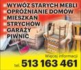 Likwidacja mieszkań Sklepów, Magazynów, Piwnic Wywóz mebli