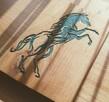 Płaskorzeźba z wizerunkiem konia (prezent, upominek) - 1