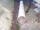 Rura PCV fi 300 kanalizacyjna, nieużywana. - 1