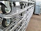 Wózek magazynowy transportowy kurierski warsztatowy siatkowy - 13