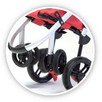 Wózek na Zakupy Carlett Lett 460 z podpórka TERMICZNY - 3