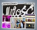 Napis MIŁOŚĆ - Napis LOVE - FOTO LUSTRO 65 4K - BARMAN