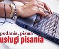 sporządzam pisma urzędowe i prywatne