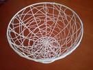 Koszyk metalowy na owoce dekoracje - 3