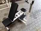 ławka ławeczka do ćwiczeń regulowana do sztangi - 2
