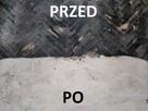Usuwanie subitu kleju lepiku smoły zrywanie parkietu PCV