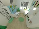 Pokoj dziecka - projekt aranżacji - 6