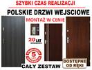 WEWNĄTRZKLATKOWE drzwi wejściowe zewnętrzne do mieszkania