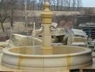 Oryginalna i stylowa fontanna piaskowiec kamień