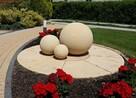 Kule z kamienia fontanna piaskowiec + gratis !!!