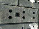 Stopa PCV podstawa ogrodzenia tymczasowego PCV ogrodzenie