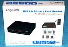 Czytnik kart pamięci zewnętrzny LogiLink 3,5 cala