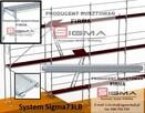 Nowe rusztowania ramowe Sigma na zamówienie