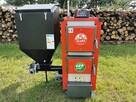 kocioł piec kotły podajnik 19 kw (groszek, pelet)-drewno EKO