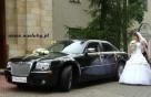 Auta do ślubu Kraków, Chrysler 300C, wynajem limuzyn, - 5